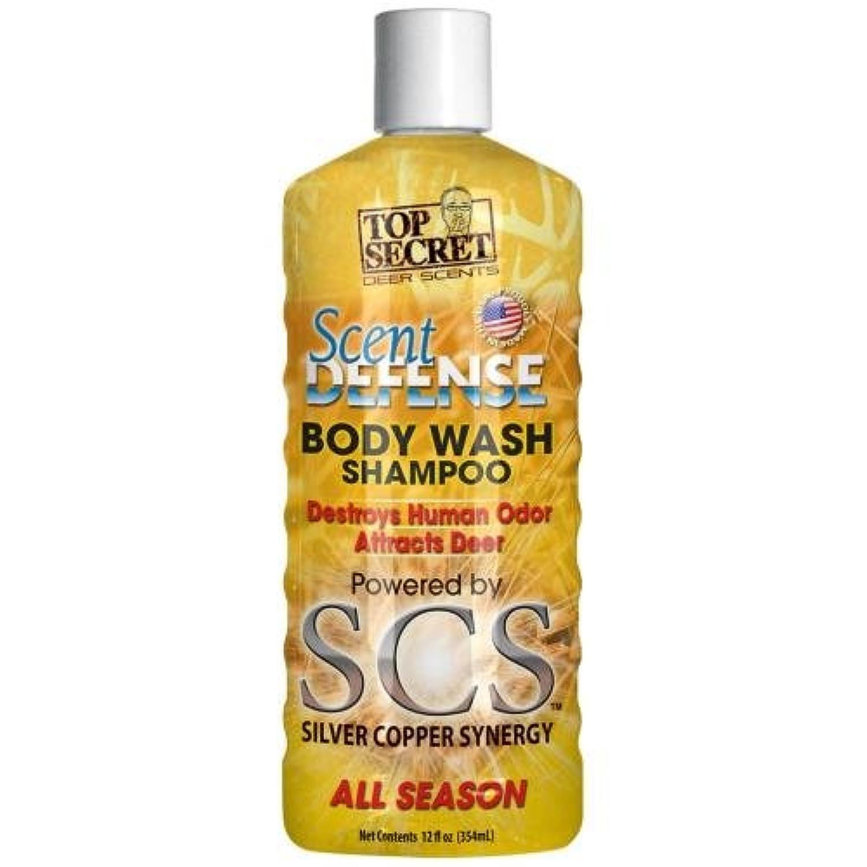Top Secret Deer Scent Defense Body Wash and Shampoo, Yellow, 12 oz crjfcf9668501