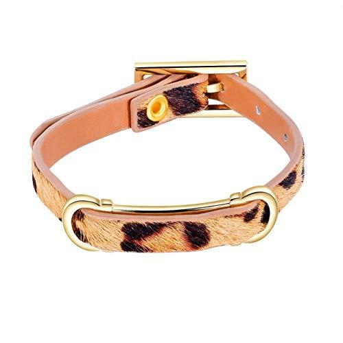 HYMWAN Europäische Und Amerikanische Populäre Explosive Kreative Frauen Pferdehaar Armband Einfache Leopardenmuster Armband Edle FA