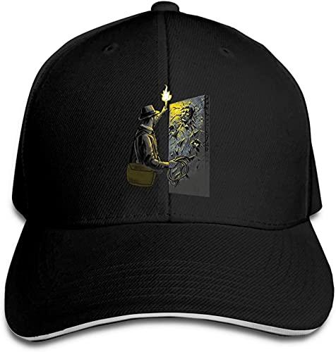 """""""N/A"""" SBLB Indiana Jones Han Solo Carbonite Sombrero de béisbol para adultos al aire libre para hombres y mujeres Snapback"""