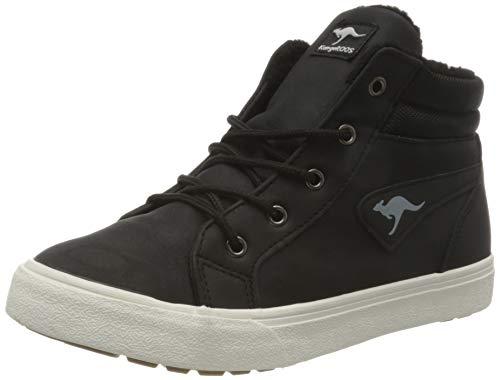 KangaROOS KAVU I Sneaker, Jet Black/White, 28 EU