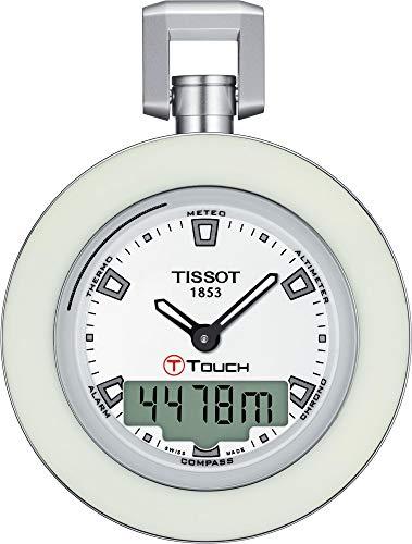 Tissot POCKET TOUCH WHITE RING T857.420.19.011.00 Taschenuhr
