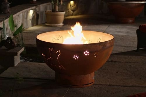 Best Price Funky Dog Fire Pit Ignition: Electronic, Fuel Type: Natural Gas
