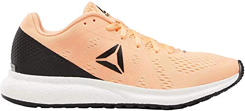 Reebok Men's Forever Floatride Energy Competition Running Shoes, Multicolour Sunglo Black Blanco 000, 8.5 UK 7