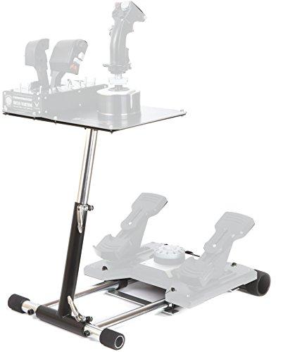 Wheel Stand Pro compatibile con Thrustmaster HOTAS WARTHOG, Saitek X52 (Pro) e Saitek X55