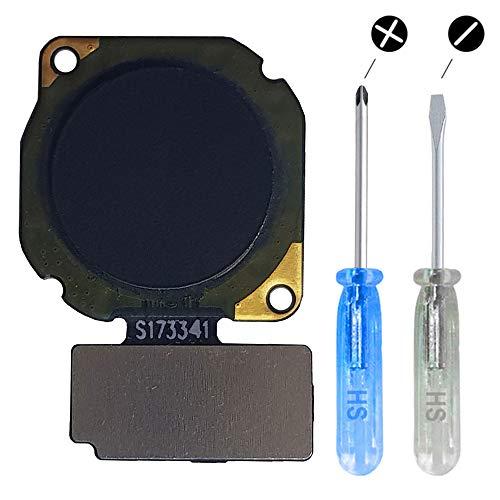 MMOBIEL Botón Inicio Home de Reemplazo Sensor Huella Dactilar Compatible con Huawei Mate 10 Lite (Graphite Black/Negro)