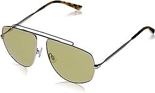 Puma Men's PU0188S PU0188S-006 59 Aviator Sunglasses, Gold, 59 mm