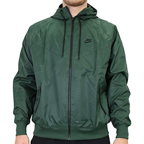 Nike giacca a vento verde unisex - xs