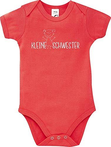 Shirtstown Bébé Corps Petit Soeur - Rouge, 18-24 Monate
