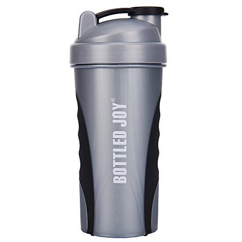 BOTTLED JOY Protein Shaker Bottle, Non-toxic Wide Mouth 100% Leak Proof Shake Water Bottles...