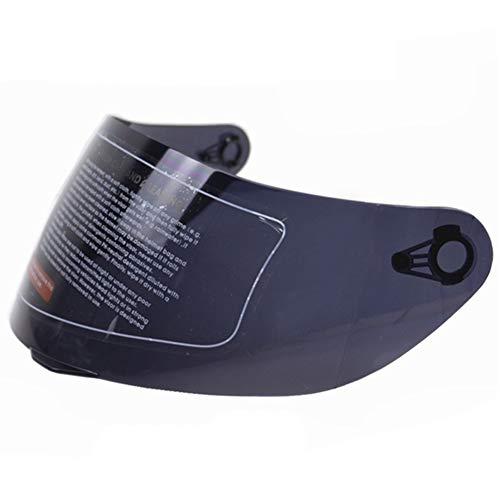 Visiera esterna Iridium, compatibile con AGV K3, SV, K5, 316 902, visiera antigraffio per casco moto D7, J7 Taglia libera Tea Color