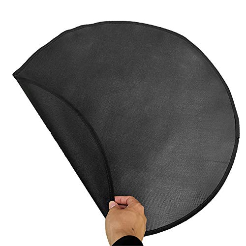 Augneveres Gas Grill Mat Floor Mat Ground Cover BBQ Grill Mat Fire Pit Mat Fire Resistant Fire Pad Patio and Deck Protector Fireproof Blanket Protective Rug for Backyard Outdoor Deck Patio economical