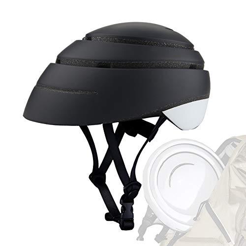 DYOYO Casco de Bicicleta Plegable Helmet Loop Casco de Bici,Fashional Forro Desmontable...