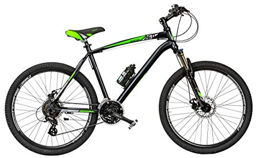Bici Misura 26 Uomo MTB Front Alluminio KUSTER Altus 21V Art. KR26A-D (40 CM)