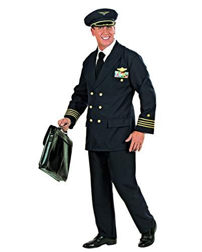 Piloten Uniform Berufs-Kostüm für Herren an Fasching & Mottoparty L