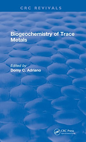 Biogeochemistry of Trace Metals: Advances In Trace Substance