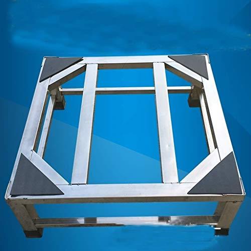 LRLTERRY アプライアンスブラケット、高さを上げるステンレス鋼洗濯機の棚消毒キャビネットブラケット冷蔵庫ブラケット三脚 (Size : 50x50x20cm)