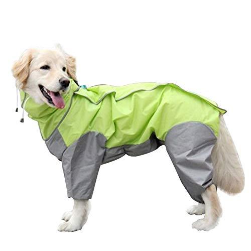 Yippel Huisdier Hond Hooded Regenjas Kleding Waterdichte Jumpsuit Jassen Comfortabel voor Outdoor