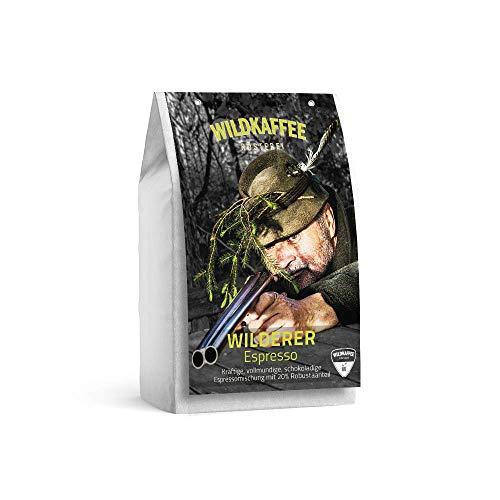 Wildkaffee Rösterei Wilderer Espresso, 1000 g, Ganze Bohne