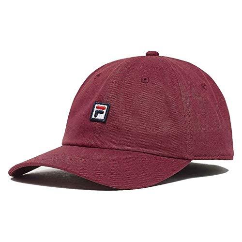 FILA Cap DAD Cap Strap Back 686004 Dunkelrot J93 rhubab, Size:ONE Size