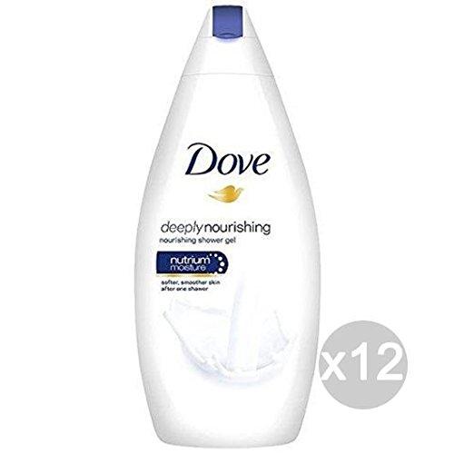 Preisvergleich Produktbild Set mit 12 Dove Bad 500,  feuchtigkeitsspendend,  Körperpflege und Reinigung