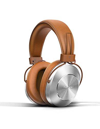 Pioneer - Auriculares inalámbricos Bluetooth y de alta resolución sobre el oído,...