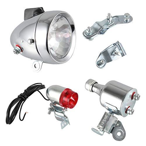 Générique 12V 6W Phare Lampe Laser Feu Arrière Avant Lumière Dynamo Pour Moto vélo motorisé