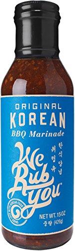 Bulgogi Sauce Kalbi Marinade Original Korean BBQ We Rub You 15 oz (Pack of 1)