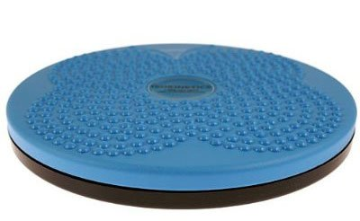 Isokinetics Inc. Twist Board - Blue - Rotating Disc for Fitness and Exercise - 10'