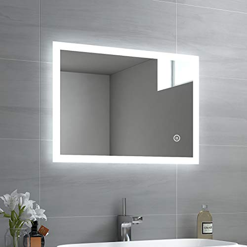 badrumsspegel med belysning bauhaus