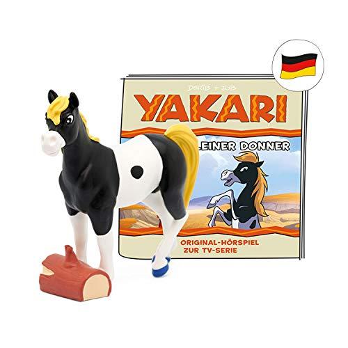 tonies 10000248 -  Figuras de Sonido para Caja Toniebox # Yakari # Best of Kleine Donner # Aprox. 39 min # A Partir de 4 años # en alemán