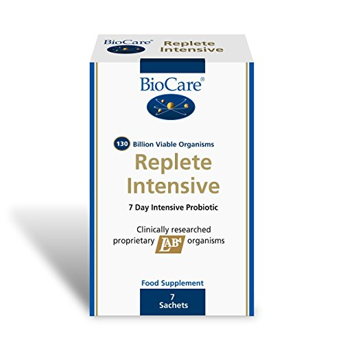 BioCare Replete Intensive 7 Probiotic Sachets (130 billion per daily intake) 7 Sachets