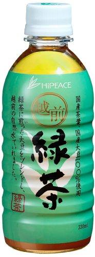 盛田 ハイピース 越前緑茶 ペット 330ml×24本