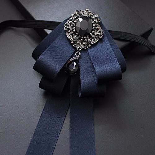 THTHT handgemaakte klassieke broche stof lint stijlvolle zilveren broches corsage geschenk mannen bruiloft bruid bruidegom feestceremonie geschenk