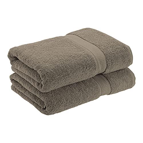 Superior - Juego de Toallas de baño de algodón de 900 g/m2, Color carbón, 2 Piezas ✅