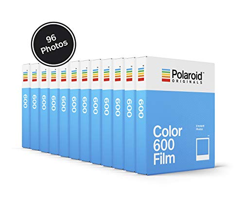 Polaroid Originals Color Film for 600-12-Pack, 96 Photos (4966)
