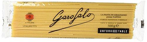 Garofalo 009, Spaghetti, Pasta di Semola di grano puro,  500g [1 pezzo]