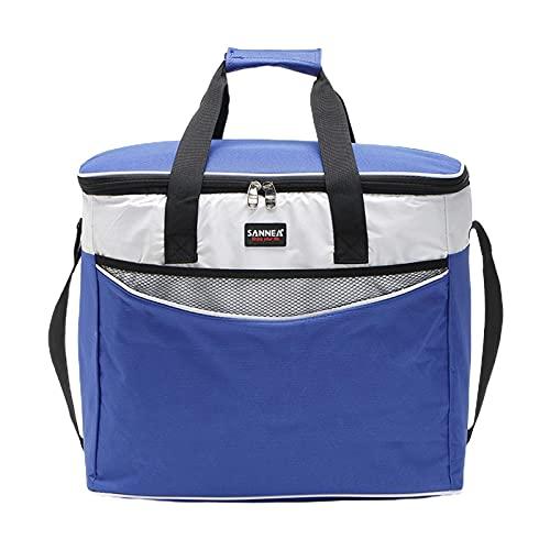 bolsa de picnic con, 34L reutilizable bolsa isotérmica, bolsa isotérmica plegable, comida campestre de picnic cesta de picnic