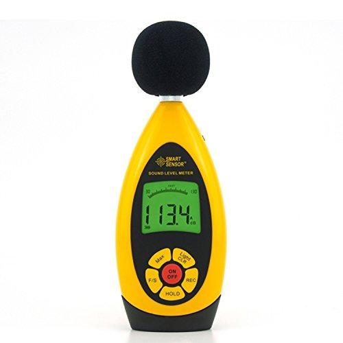 liuchenmaoyi Metalldickenzähler Hand Digital Lärm Schallpegelmesser Shop 10000 Lesungen USB Tester Reichweite 30dB-130dB Genauigkeit +/- 1,5db AR854 Dickenzähler