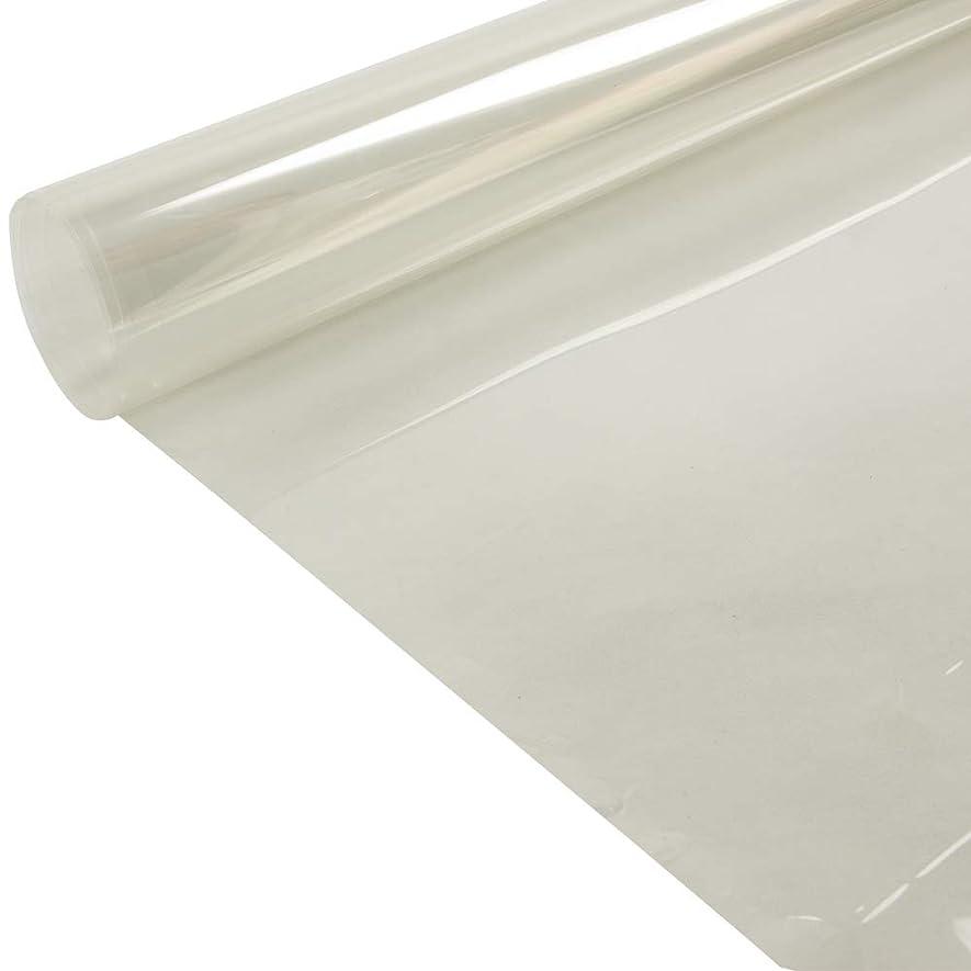 アカデミックドライブチョークMr.M 透明 クリアマット テーブルマット ランチョンマット 耐熱 防水 キズ 汚れ防止 保護フイルム 保護マット マット 家具保護フィルム 粘着シート 粘着剤付き 幅60cm