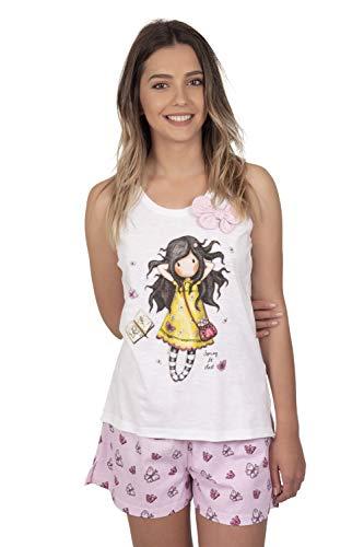 Santoro Pijama Manga Corta Spring At Last para Mujer
