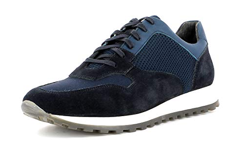 Gordon & Bros Herren Low-Top Sneaker, Conte S191860 Männer Halbschuh,Schnürschuh,Strassenschuh,Business,Freizeit,DK. Navy,44 EU / 10 UK