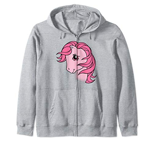My Little Pony Cotton Candy Big Face Zip Hoodie