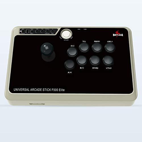 MAYFLASH Arcade Stick F500 Elite with Sanwa Buttons and Sanwa Joysticks for Xbox Series X/PS4/PS3/Xbox One/Xbox 360/Nintendo Switch/Android/PC Windows/NEOGEO Mini/SEGA MEGA Drive/SEGA Genesis