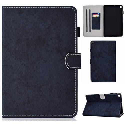 Jajacase Galaxy S6 Lite 10.4 2020 Case,SM-P610/P615 Tablet Case,PU Leather Multi-Angle Viewing Folio Stand Cover Case for Samsung Galaxy TAB S6 Lite 10.4 2020 SM-P610/P615-Dark Blue