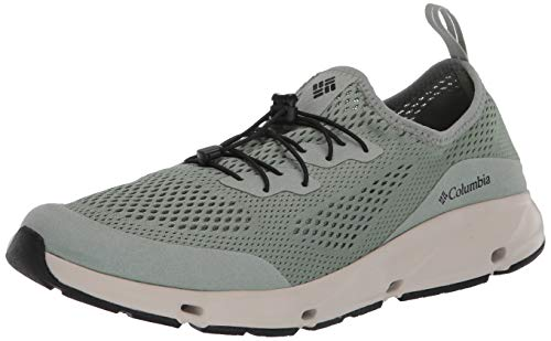 Columbia Men's Vent Sneaker, Light Lichen/Black, 10 Regular US