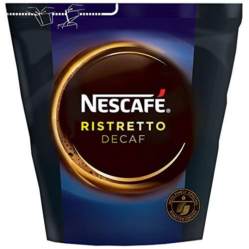 NESCAFÉ Ristretto Decaf, löslicher Kaffee mit stabiler Crema, entkoffeiniert, gefriergetrocknet, 1er Pack (1 x 250g)