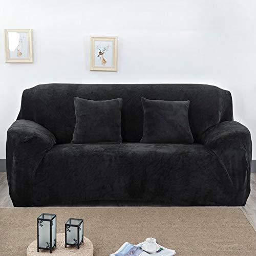 Funda de sofá elástica elástica con Estampado Floral, Toalla de sofá de algodón, Fundas de sofá Antideslizantes para Sala de Estar A7 de 3 plazas