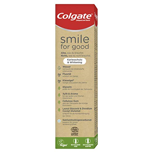 Colgate Smile for Good Kariesschutz & Whitening Zahnpasta, 75 ml