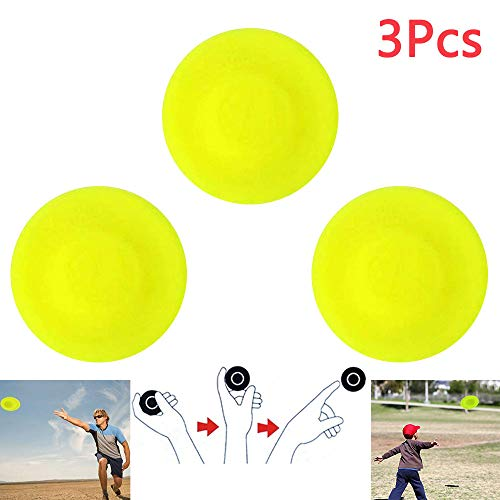Colmanda Visspel Flying Disc, 3 Stuks Mini Disc Creative Hand Thrust UFO Flying Disc Flying Game Buitenspellen Voor Kinderen Gratis Frisbee