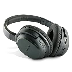 Golzer BANC-50 Bluetooth 4.1 High Fidelity Active Noise Cancelling Wireless OverEar Headphones with apt-x